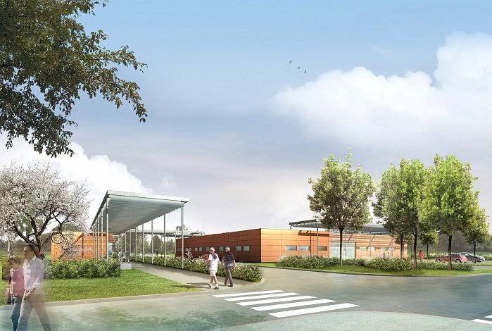 Porterie, centre de consultations, CMP/CGM & CATTP