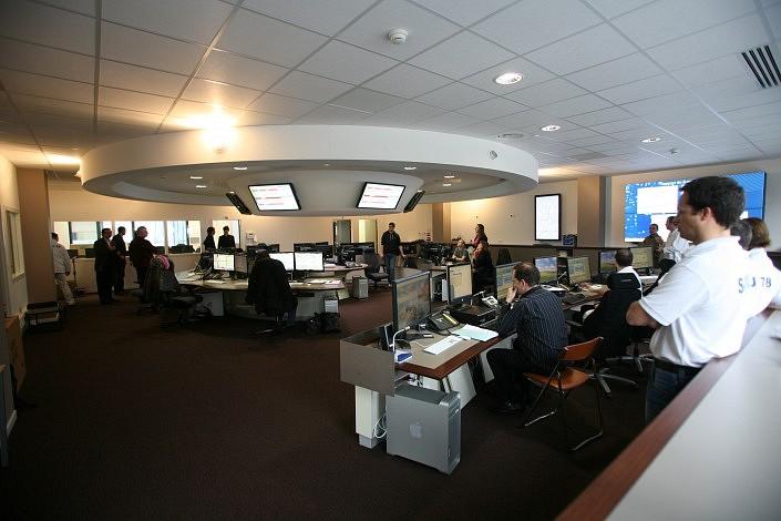 salle de régulation du SAMU 78