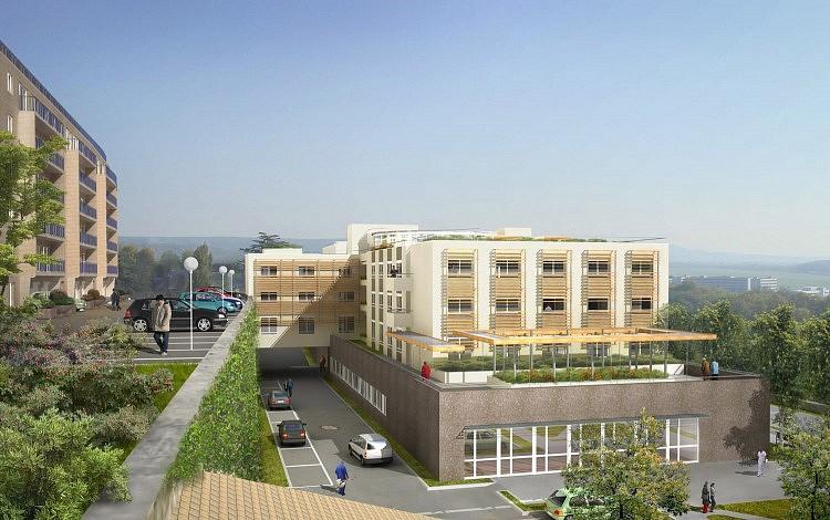 Maison de retraite chatelain guillet 3sd architectes for Architecture maison de retraite