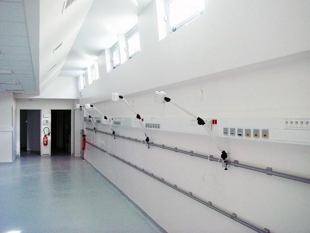 Salle de réveil provisoire