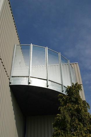 Terrasse sécurisée patients