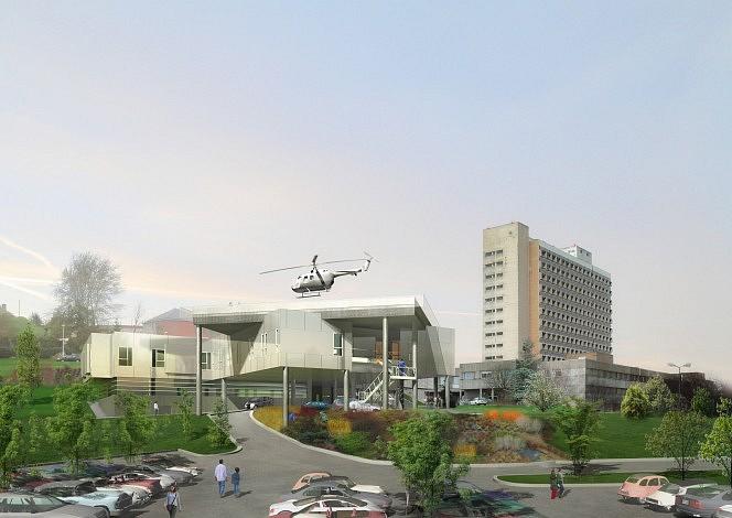 centre hospitalier de laval 3sd architectes architecture hospitali re. Black Bedroom Furniture Sets. Home Design Ideas
