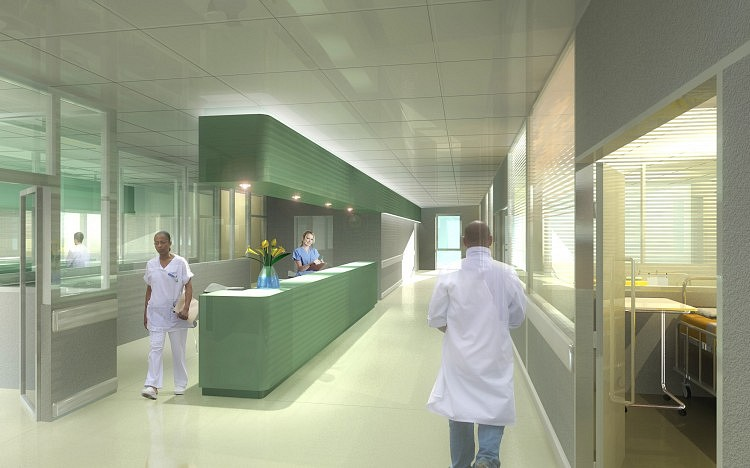 Poste infirmier service de réanimation