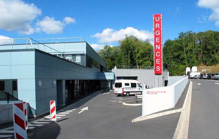 H pital andr mignot 3sd architectes architecture for Garage volkswagen le chesnay 78