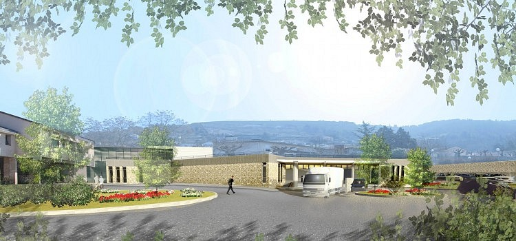 centre hospitalier de la chartreuse 3sd architectes architecture hospitali re. Black Bedroom Furniture Sets. Home Design Ideas