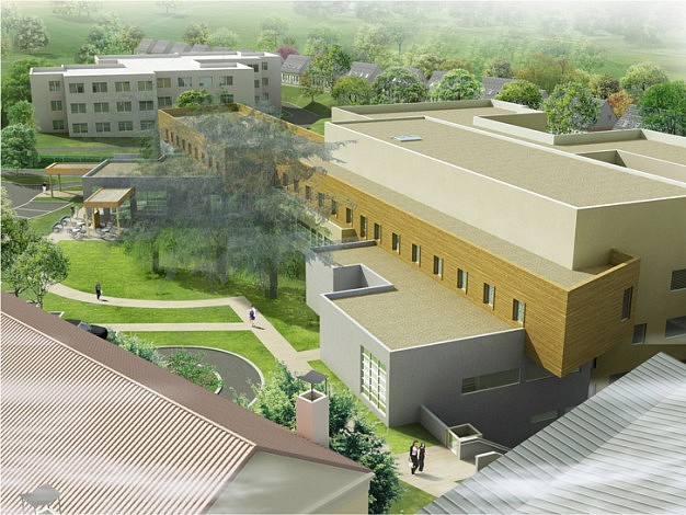 centre hospitalier d h nin beaumont 3sd architectes architecture hospitali re. Black Bedroom Furniture Sets. Home Design Ideas