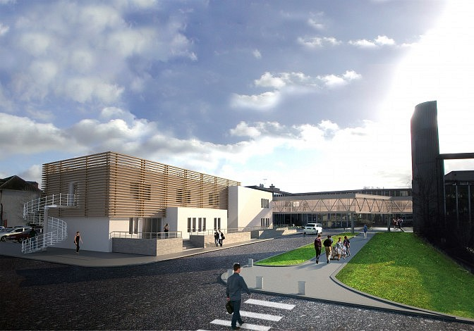 Centre hospitalier de fontainebleau 3sd architectes for Architecte fontainebleau